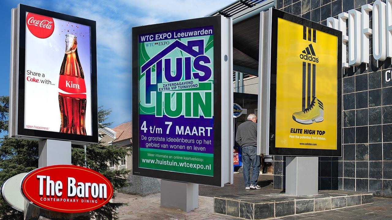 Panneaux Déroulants Publicitaire Rotapanel Panneaux Publicités Dynamiques Et De Signalisation Variables